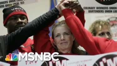 Powerful Union Declines To Endorse In Nevada | Katy Tur | MSNBC 6