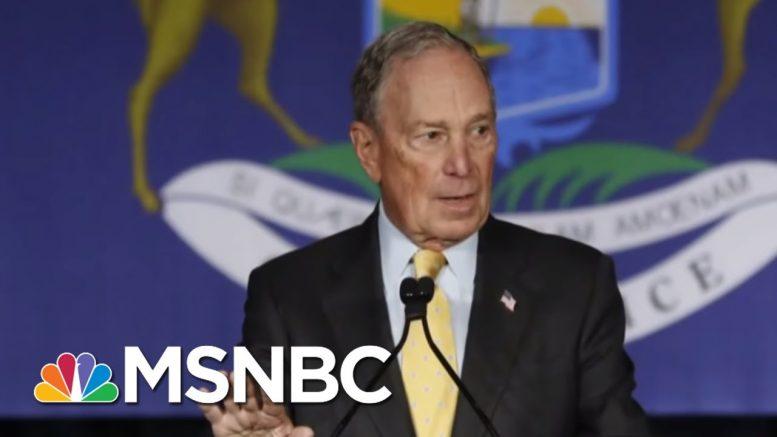 Mike Bloomberg Qualifies For Las Vegas Democratic Debate   Morning Joe   MSNBC 1