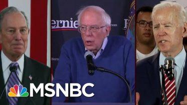 Bernie Sanders, Joe Biden, Mike Bloomberg Statistically Tied In Va. | Morning Joe | MSNBC 1