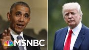 Stephanie Ruhle Fact-Checks Trump's Economy Claims After Obama Tweet | Velshi & Ruhle | MSNBC 2