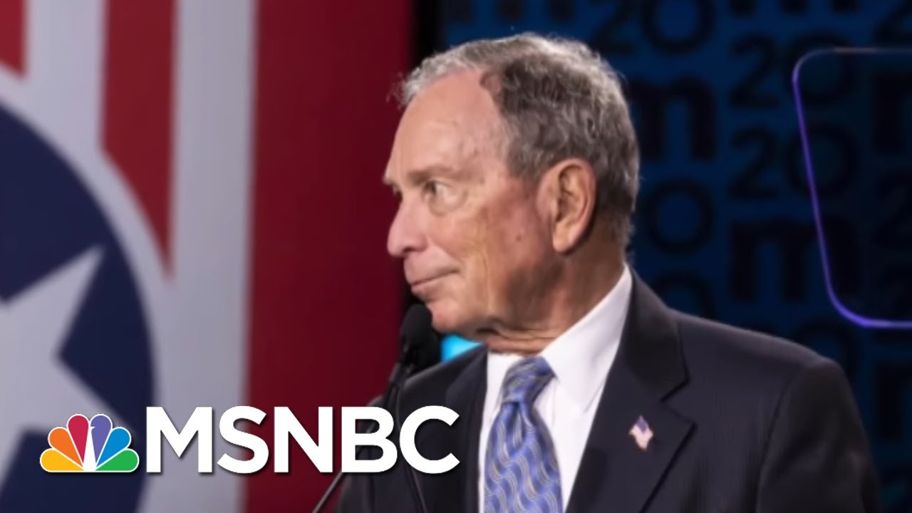 Bloomberg Fires Back vs. Trump, But Will Critiques Bruise His 2020 Chances? - Day That Was   MSNBC 2
