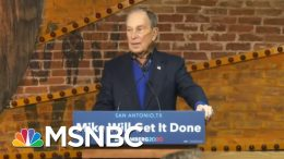 Biden Campaign Pushes Back On Bloomberg's Rise | MTP Daily | MSNBC 7