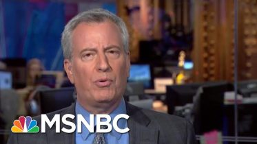 Mayor Blasio: Americans Are 'Not Hung Up' On Sanders' Democratic Socialist Label | MTP Daily | MSNBC 6