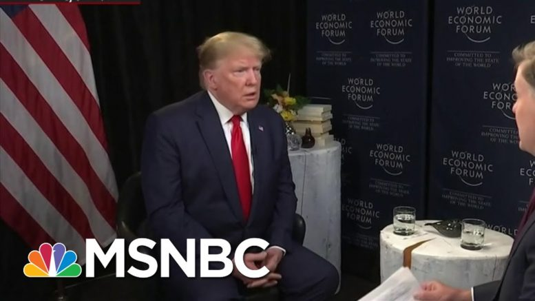 How Trump Handled The Last Global Health Crisis   All In   MSNBC 1