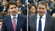 Trudeau and Scheer debate on rail blockade solutions in the House of Commons 3