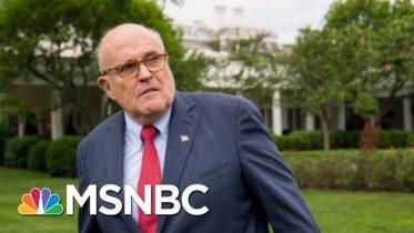 DOJ Memo Shows Barr's Lid On Reported Giuliani Investigation | Rachel Maddow | MSNBC 6