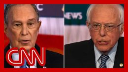 Bernie Sanders clashes with Bloomberg over wealth and big business 8