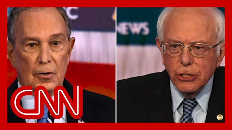 Bernie Sanders clashes with Bloomberg over wealth and big business 1
