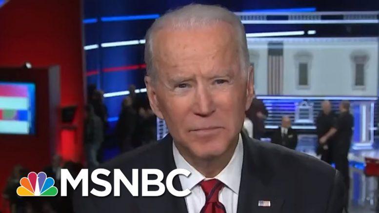 Joe Biden: I'm Going To Beat Trump 'Like A Drum,' Can't Wait To Debate Him  | MSNBC 1