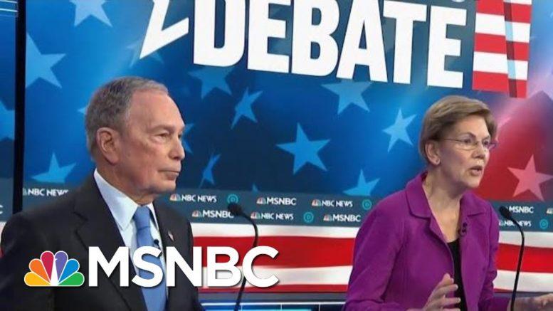Chris Matthews On Debate: Elizbeth Warren Came Back Tonight | Hardball | MSNBC 1