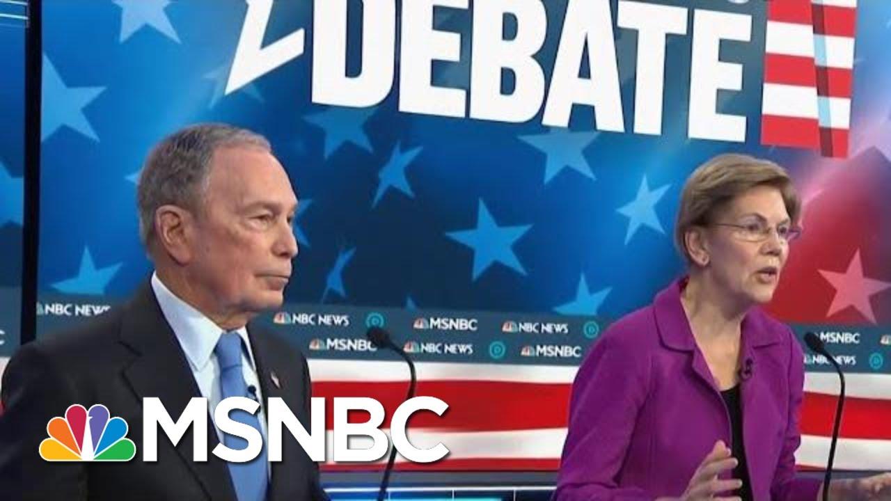 Chris Matthews On Debate: Elizbeth Warren Came Back Tonight | Hardball | MSNBC 6