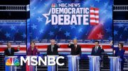 Democrats Hit Each Other Hard At Fiery Las Vegas Debate | The 11th Hour | MSNBC 2