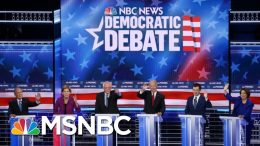 Democrats Hit Each Other Hard At Fiery Las Vegas Debate | The 11th Hour | MSNBC 4