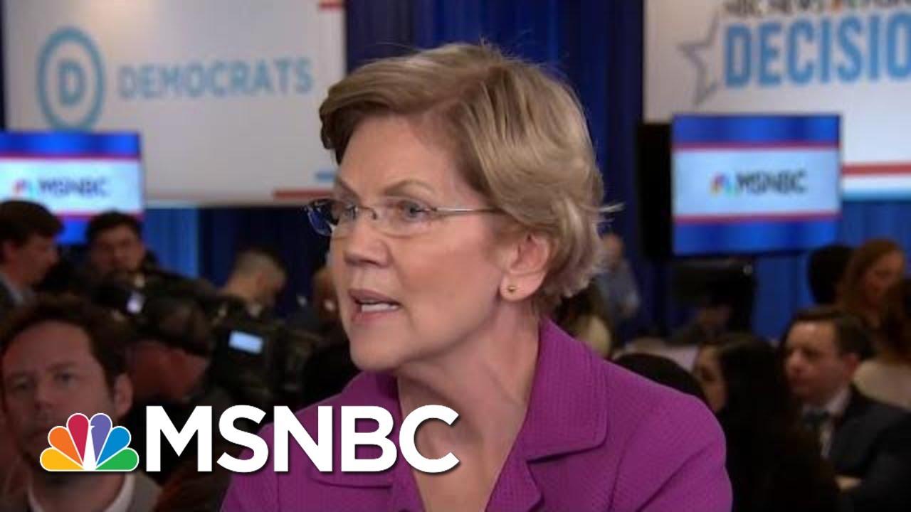 Warren: Bloomberg Will Have To Spend More To 'Erase America's Memory' Of Debate | Hardball | MSNBC 4