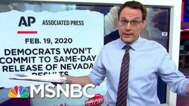 Democrats See Cause For Hope, Anxiety In Nevada Early Voting | Rachel Maddow | MSNBC 1