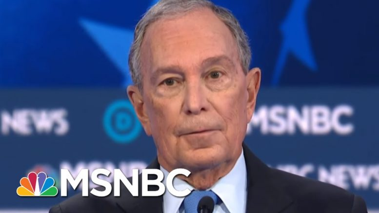 Unprepared, Unequipped Mike Bloomberg Makes First Debate Appearance | Morning Joe | MSNBC 1