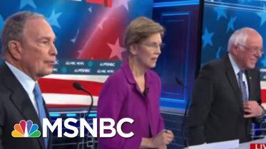 What Michael Bloomberg Handled Well At The Debate | Morning Joe | MSNBC 10