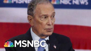 Rivals Pile On Michael Bloomberg In His Debate Debut | Velshi & Ruhle | MSNBC 6