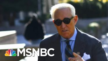 Roger Stone Sentenced To 40 Months In Prison | Andrea Mitchell | MSNBC 6