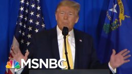 Nicolle: Trump's Comments On Roger Stone Have Us On 'Pardon Watch' | Deadline | MSNBC 9