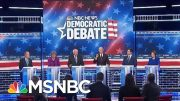 Circular Firing Squad Among The Democrats At Las Vegas Debate | Deadline | MSNBC 5