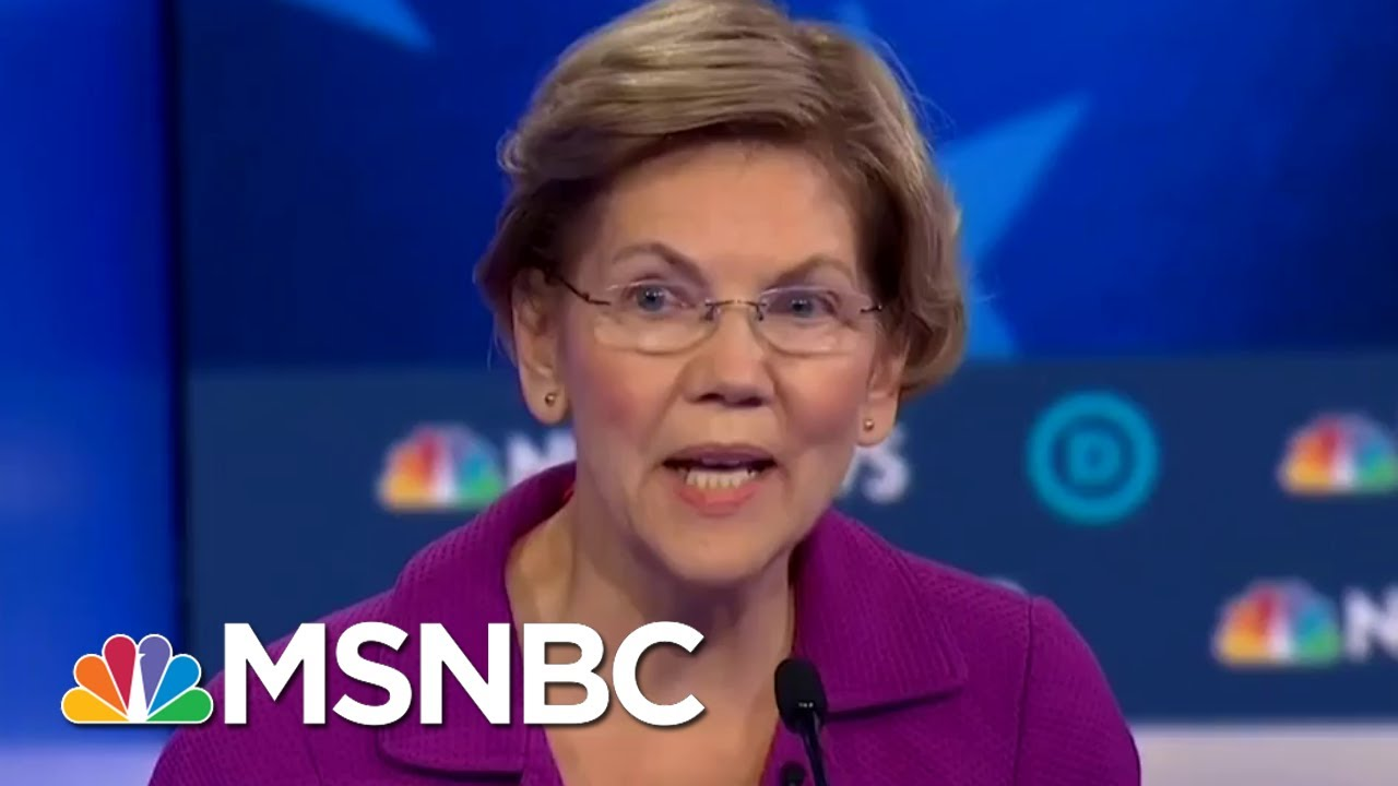 Warren On Whether Sanders Has Released Enough Medical Records: 'He Just Hasn't'   MTP Daily   MSNBC 1
