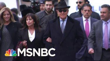 Judge Rebuffs Trump, Sends Adviser Roger Stone To Prison For Three Years | MSNBC 6