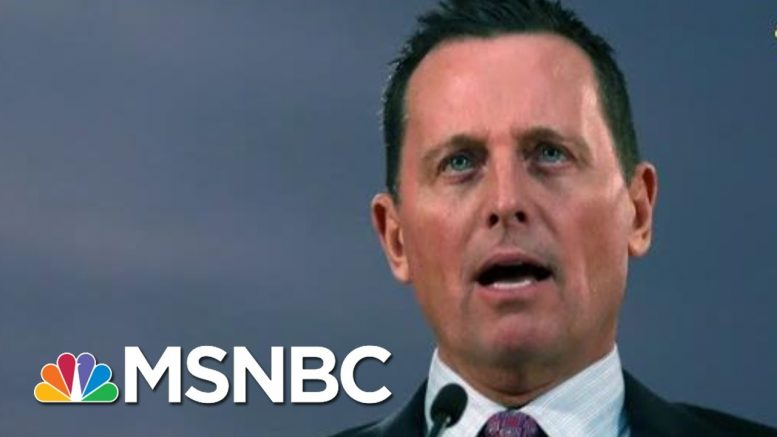 'Grenell Is An Internet Troll:' Rep. Cicilline On Trump's New Acting Intel Chief | All In | MSNBC 1