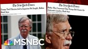 Day 1,107: GOP Blocks Trump Impeachment Witnesses As Another Bombshell Drops | The 11th Hour | MSNBC 2