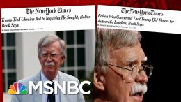 Day 1,107: GOP Blocks Trump Impeachment Witnesses As Another Bombshell Drops | The 11th Hour | MSNBC 1