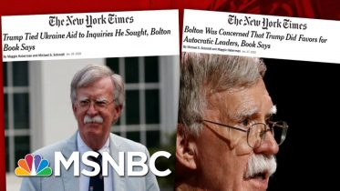 Day 1,107: GOP Blocks Trump Impeachment Witnesses As Another Bombshell Drops | The 11th Hour | MSNBC 6