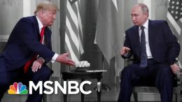 NYT: Republicans Challenged Intel That Russia's Aiding Trump Again   The 11th Hour   MSNBC 7