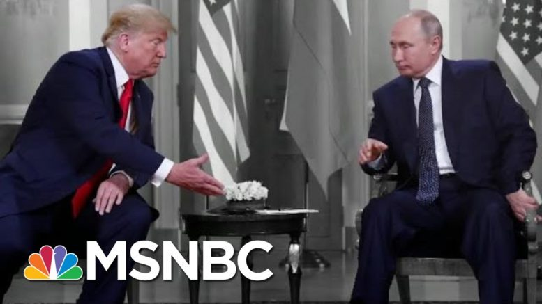 NYT: Republicans Challenged Intel That Russia's Aiding Trump Again | The 11th Hour | MSNBC 1