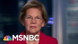 Elizabeth Warren On Private Conversation With Mike Bloomberg During Debate | The Last Word | MSNBC 6