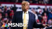 President Donald Trump Blasts 'Parasite,' Brad Pitt At Thursday Rally | Morning Joe | MSNBC 3