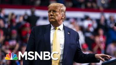President Donald Trump Blasts 'Parasite,' Brad Pitt At Thursday Rally | Morning Joe | MSNBC 6