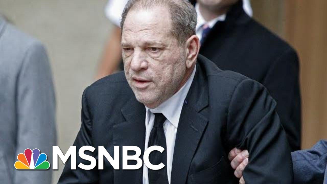 Weinstein Jury Tells Judge It's Hung, Judge Says Verdict Must Be Unanimous | Katy Tur | MSNBC 8
