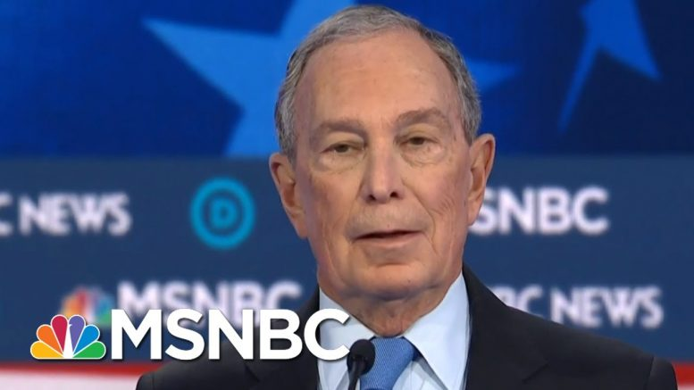 Bloomberg Offers To Release 3 Women From NDAs | Deadline | MSNBC 1