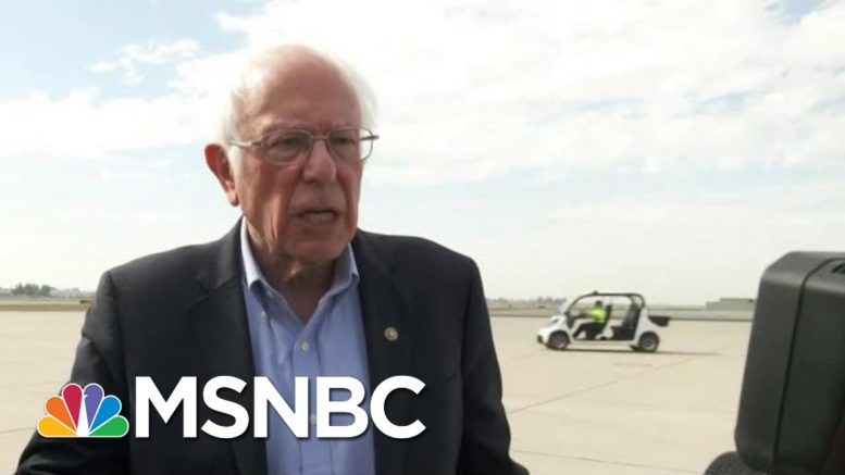 Bernie Sanders: Briefed On Russian Attempts To Help Campaign 'A Month Ago' | MTP Daily | MSNBC 1