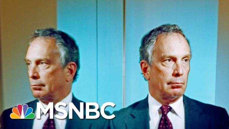 'You're A Disgrace': Mike Bloomberg Insults Journalist After Tough Questions | MSNBC 1