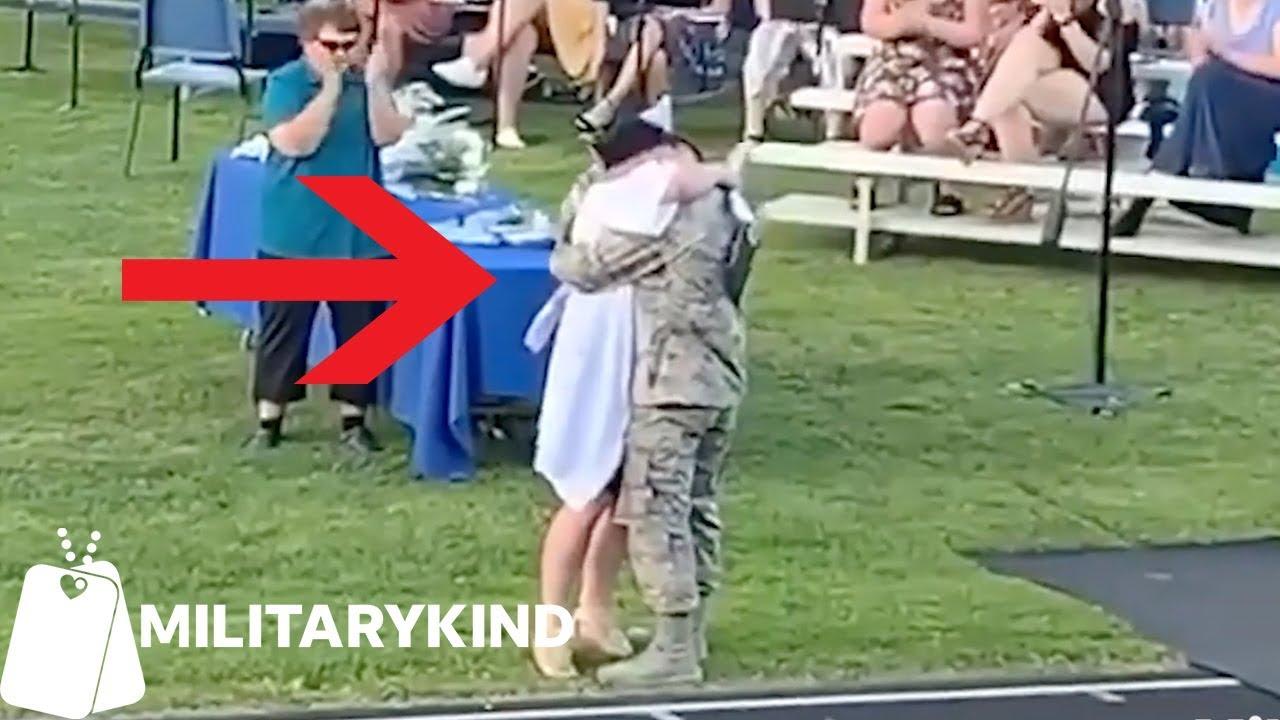 Airman surprises high-school sweetheart at graduation | Militarykind 1