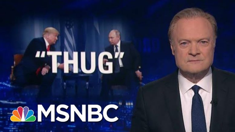 How Trump And Sanders Respond To Putin's Help | The Last Word | MSNBC 1