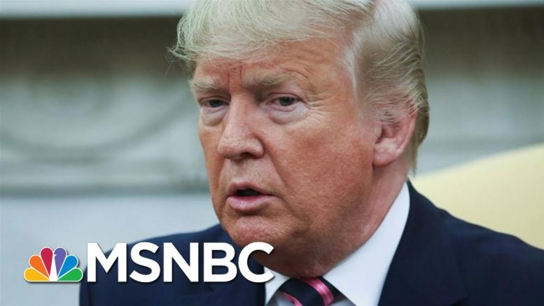 Maddow: Time For Warnings Is Past As Trump Openly Abuses Power | Rachel Maddow | MSNBC 1