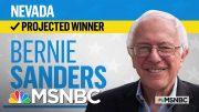 Sen. Bernie Sanders Is The Projected Winner Of The Nevada Democratic Caucus   MSNBC 3