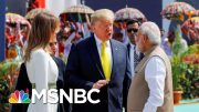 President Donald Trump Makes First Visit To India As President | Morning Joe | MSNBC 4