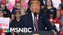 Trump Calls Russia's 2020 Election Interference A 'Hoax' But It's Very Real   The 11th Hour   MSNBC 3
