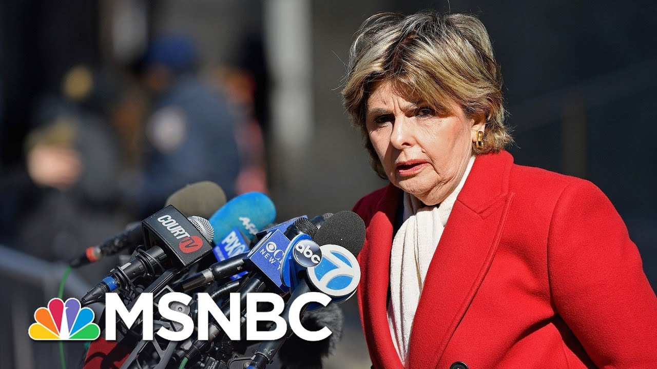 Allred Calls Conviction 'Legal Reckoning For Harvey Weinstein' | Andrea Mitchell | MSNBC 1