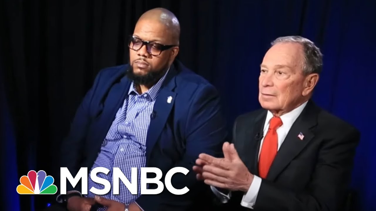 Michael Bloomberg: I'm A Target For Other Candidates Because They Think I'm A Threat | MSNBC 3