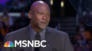 Watch Michael Jordan's Speech At Kobe Bryant's Memorial Service | MSNBC 6
