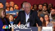 How Is The Bernie Sanders' Campaign Responding To Attacks On His Record? | MTP Daily | MSNBC 3
